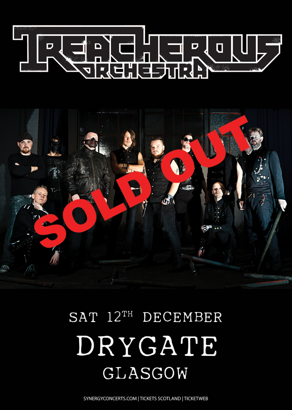 Treacherous Orchestra Glasgow SOLD OUT