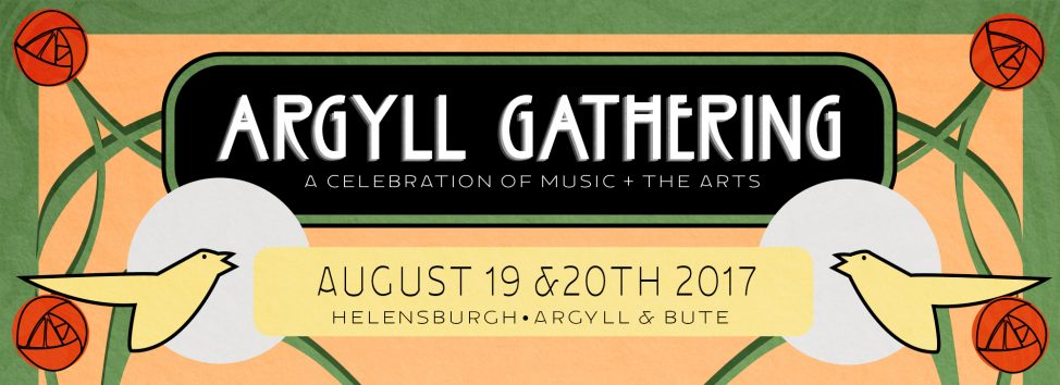 Argyll Gathering Poster header